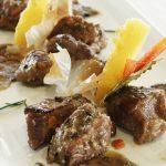 ristorante Genga Secondo spezzatino vitello tartufo e polenta