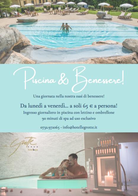 Promo centro benessere e piscina Genga